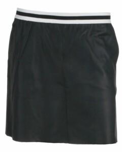 Only pu skirt