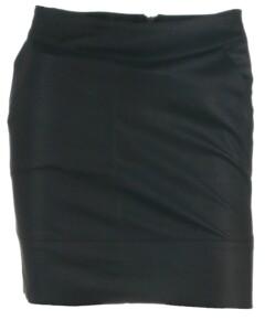 Sort skirt fra ONLY - 15164809 Base faux leather