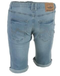 Petrol denim shorts