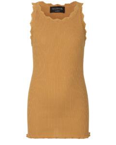 Rosemunde blonde silke top